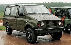 Ульяновские конструкторы надеются, что гибридному дизель-электрическому УАЗ-2970 удастся встать в армейский строй