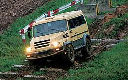 """Полноприводный КамАЗ-43501 """"Бархан"""" позволит силовикам передвигаться по любой местности и в любую погоду"""