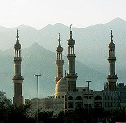 ОАЭ соединяют традиции и современность: строят современные отели-небоскребы и вполне традиционные мечети