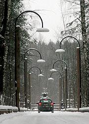 Дорога в Пирогове
