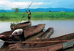 Cегодня на африканском озере Малави не очень много судов