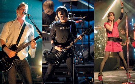 """Queens of the Stone Age - наиболее актальные из всех участников фестиваля. Дейф Грол, лидер группы Foo Fighters, самый саслуженный гость Tuborg Loud & Live. Группа Garbage и Ширли Мэнсон главный """"крючок"""" фестиваля"""