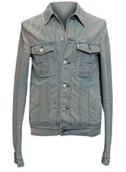 Куртка из денима, Dior (с учетом скидки 50% — 12 432 руб.)