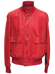 Куртка из кожи, Gianfranco Ferre (с учетом скидки 50% — 41 403 руб.)