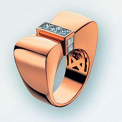 1940-е, кольцо Bow