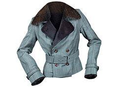 """Куртка из шерсти, Gianfranco Ferre. Подстежка из меха кролика, воротник из меха ондатры (""""Крокус Сити Молл"""", 97 754 руб.)"""