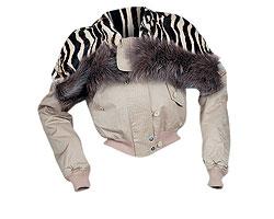 """Куртка из хлопка, Gianfranco Ferre. Подстежка из меха кролика, оторочка из меха лисы (""""Крокус Сити Молл"""", 73 815 руб.)"""