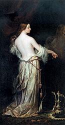 """Николай Майков. """"Красавица у зеркала"""", 1845 г. Эстимейт $220-230 тыс."""