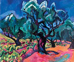 "Петр Кончаловский. ""Олива"", 1910 г.Sotheby`s, эстимейт $2,5-3,5 млн"