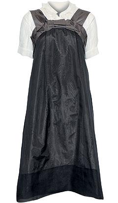 Сарафан и блузка из шелка, Chloe(Podium, 70 900 руб. и 26 900 руб.)