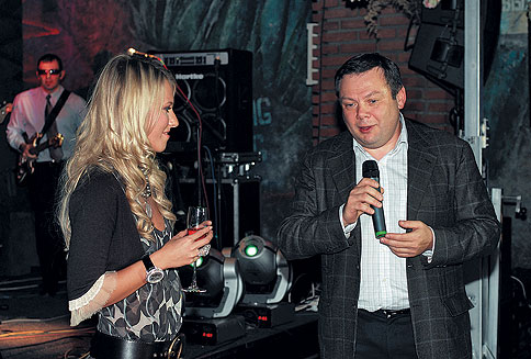 Михаил Фридман и Ксения Собчак — день рождения Ксении Собчак