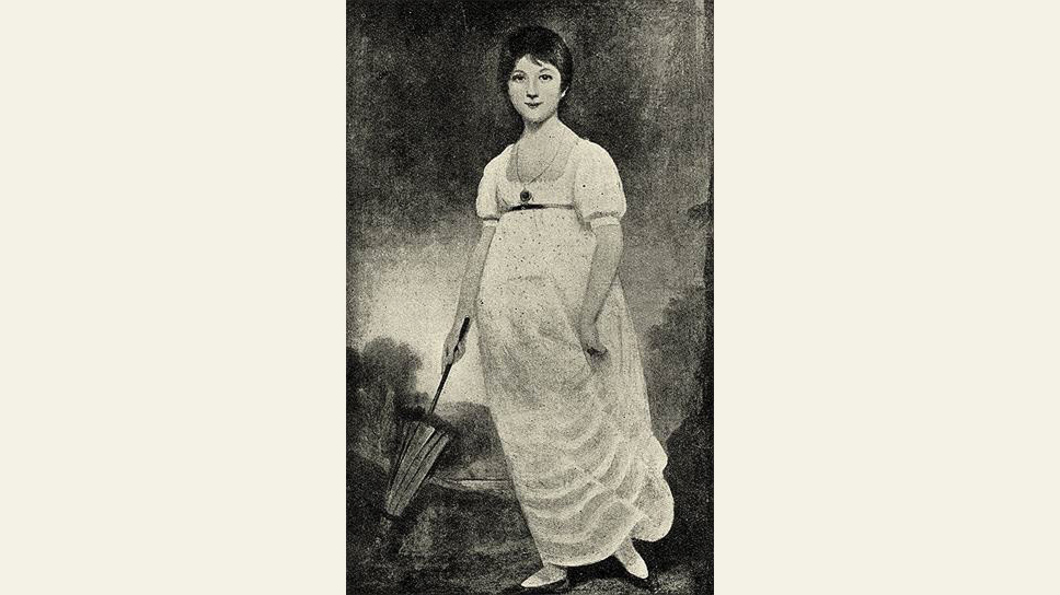 """Озиас Хамфри. """"Портрет молодой Джейн Остен"""", 1789 год"""