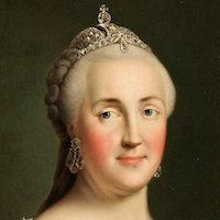 Российская императрица ЕкатеринаII