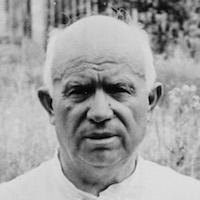 Первый секретарь ЦК КПСС Никита Хрущев