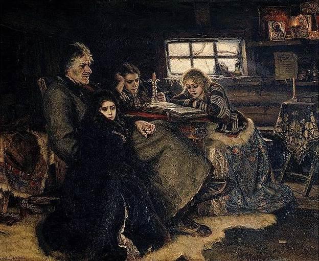 Василий Суриков. «Меньшиков в Березове», 1883год