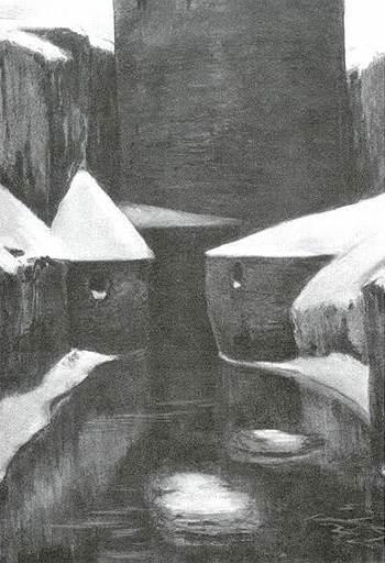 Александр Бенуа. «Замок», 1895год