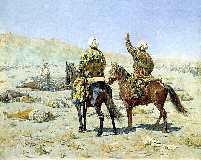 Василий Верещагин. «Туркестанская серия», 1871-1873годы