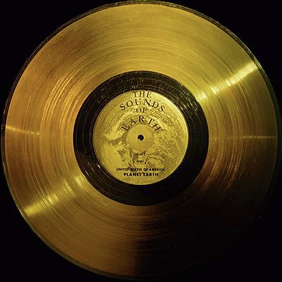 Cover of the Voyager Golden Record. Photo NASA