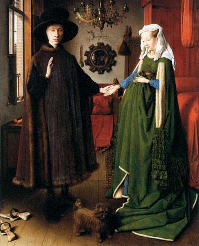 """Ян ван Эйк (1390-1441). """"Чета Арнольфини"""". Лондон, Национальная галерея"""