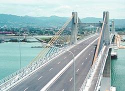 Мост Марсело... вантовый мост, расположен в районе Метро Себу(Metro Cebu...