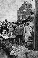 Джентльмены в колониях торговались за черных невольников с чисто английским азартом
