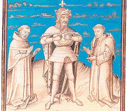 Приняв дары от Гаруна аль-Рашида, Карл Великий получил возможность сделать ход слоном