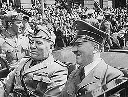 Чем хуже шли дела фашистской Италии, тем дороже становились подарки Муссолини и дешевле ответные подарки Гитлера