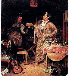 Каждый дворянский босяк был обязан иметь прислугу, пусть и живущую впроголодь