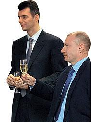 Менее $100 млн не хватило Михаилу Прохорову (слева) и Владимиру Потанину (справа), чтобы разделить не второе, а первое место нашего рейтинга