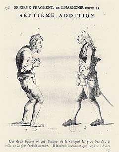 В своих книгах Лафатер доказывал, что встречать человека нужно не по одежде а по лицу