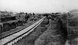 Во времена, когда прогресс и железная дорога были синонимами, Юз давал стране все для развития прогресса: сталь, рельсы, уголь
