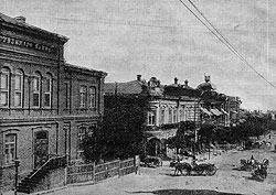Банки и конторы росли в Юзовке юыстрее, чем деревья, поскольку деревьев в ней прежде не было вовсе