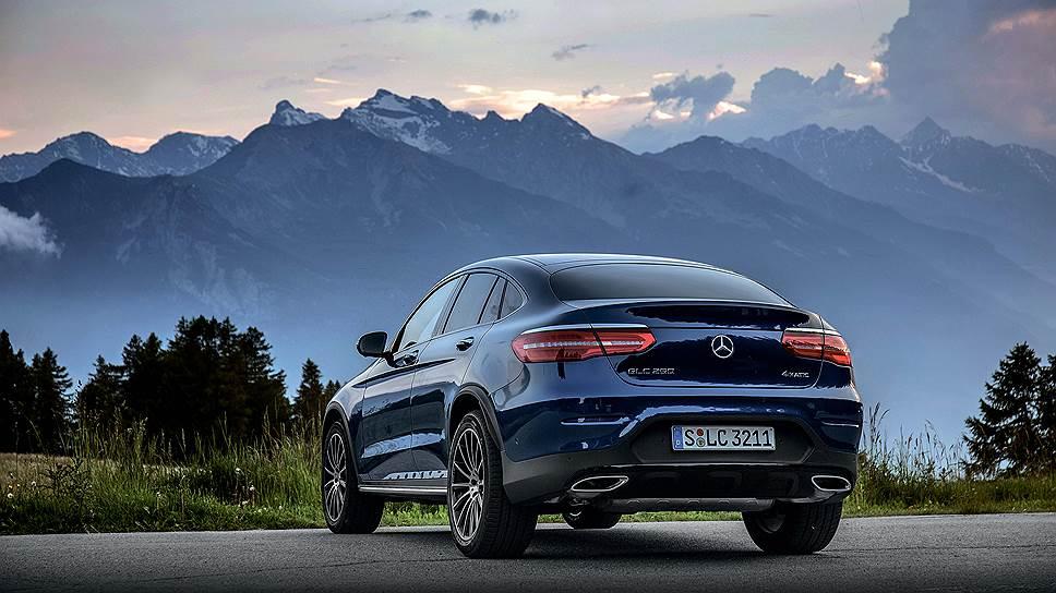 """Удивительно, но несмотря на измененную форму и габариты, коэффициент аэродинамического сопротивления GLC Coupe точно такой же, что и у """"обычной"""" версии  - 0,31"""