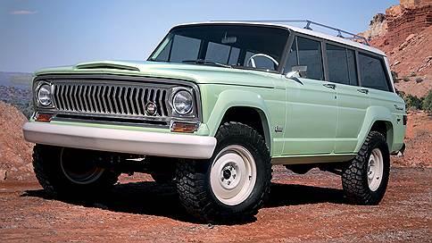 Время вспять // Jeep Wagoneer Roadtrip Concept