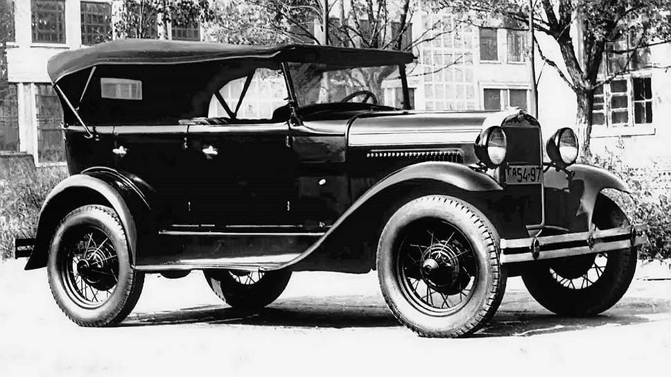 """На автомобили Ford Model A возлагалась задача автомобилизации Советского Союза. Именно эту простую и дешевую модель приняли для производства на Горьковском автомобильном заводе имени Молотова под именем ГАЗ-А. Со временем """"Фордики"""" стали основной машиной в стране."""