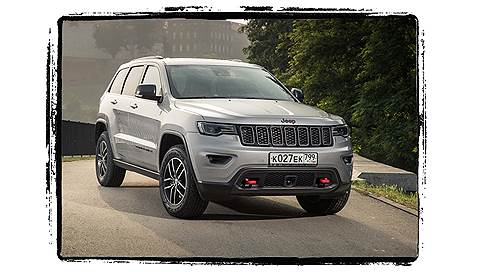 Jeep Grand Cherokee Trailhawk // Польша, август 2018