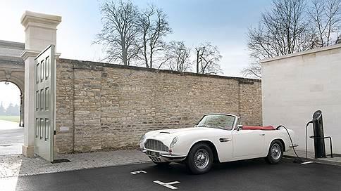 В духе старой школы // Aston Martin Heritage EV