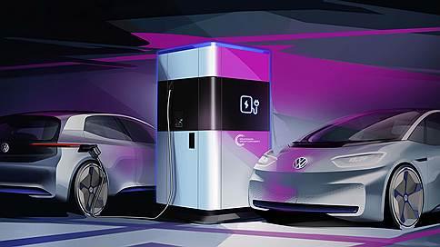 Фастфуд // VW Flexible Fast Charging Station