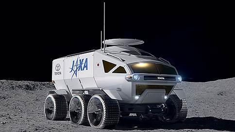 Лунными тропами // Toyota Lunar Rover