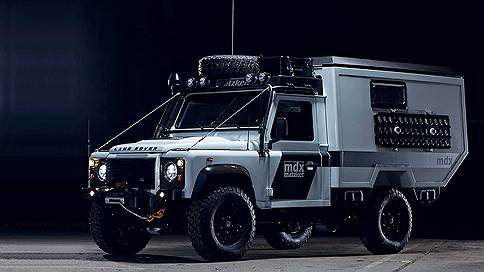 Грязи не боится // Matzker Defender MDX Expeditionsmobil