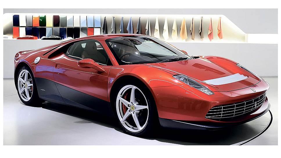 За основу была взята модель 458 Italia, которая в результате ряда художественных манипуляций стала походить на классический образец. Как следствие, у исходного автомобиля поменялись многие кузовные детали, хотя общие контуры остались узнаваемыми.