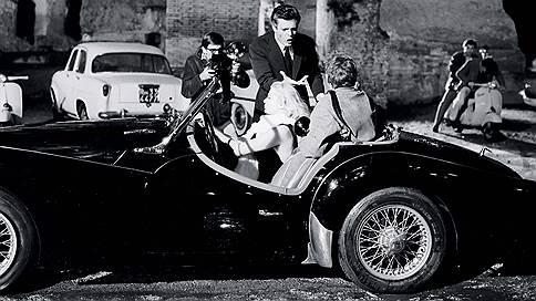 Снимается кино // Британский Triumph TR3A в итальянской трагикомедии