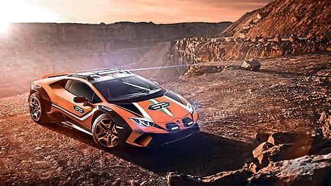 Лечебная грязь // Lamborghini Huracan Sterrato