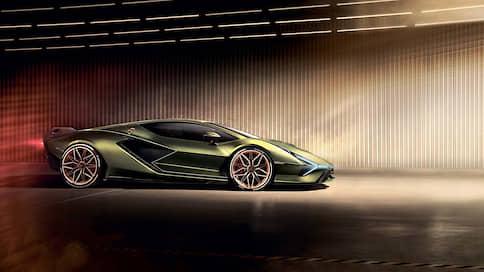 Разгон и молния // Lamborghini Siаn