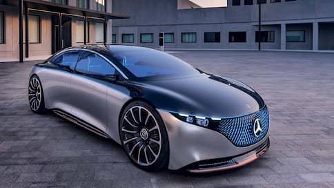 Роскошь из отходов // Mercedes-Benz Vision EQS