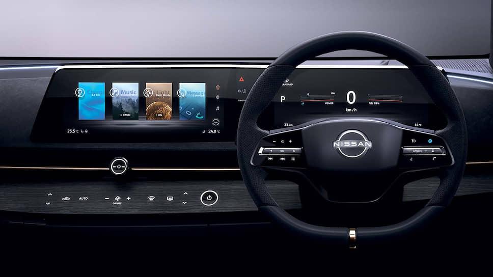 Концепт Nissan Ariya соединил в себе видовые признаки двух других серийных моделей Nissan: кроссоверное начало унаследовано от Qashqai, а донором электромобильной платформы можно считать Leaf.