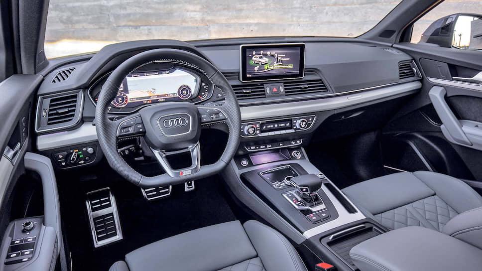 Audi Q5 оснащен персональным самообучающимся ассистентом маршрута. Навигационная система отслеживает маршруты и пункты назначения, которые обычно выбирает водитель, соотносит их с текущим местоположением автомобиля и предлагает ему оптимальный маршрут движения для следующей поездки, причем делает это даже при выключенной функции ведения по маршруту.