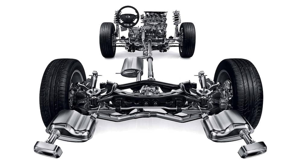 GS8 построен на несущем кузове с независимыми подвесками всех колес. Двигатель двухлитровый, бензиновый, с турбиной. Коробка передач – шестиступенчатый автомат Aisin. Усилитель руля – электрический. Все вместе это неплохо работает!