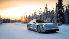 Холодное сердце  / Porsche Taycan 4S за полярным кругом