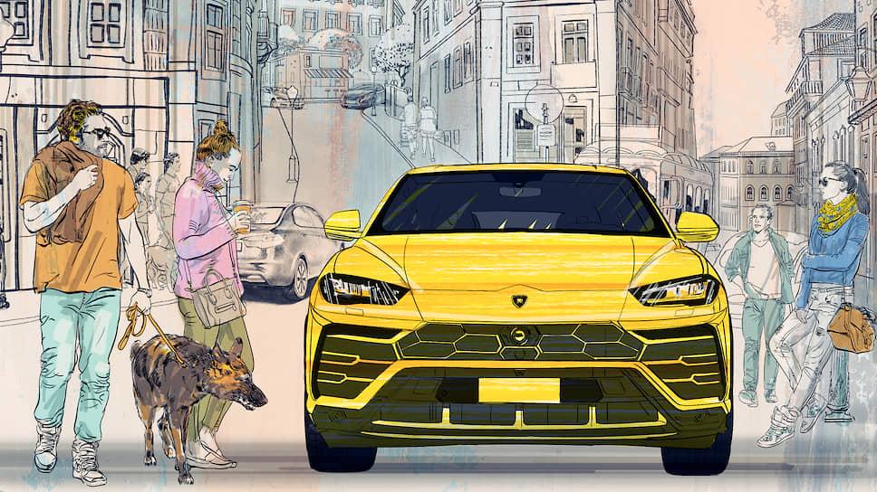 Пропорции напоминают о родстве суперкроссовера Urus с купе Lamborghini: две трети приходятся на кузов, одна треть — на остекление. Передняя часть выдает продольное расположение силового агрегата, вынесенного за пределы колесной базы и скрытого под капотом, напоминающим о Miura и Aventador. Диагональные линии капота впервые были применены в дизайне Countach.